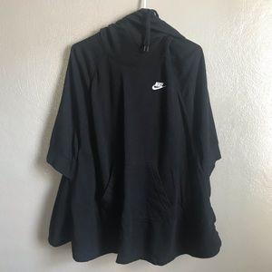 Nike Womens Poncho Sweatshirt